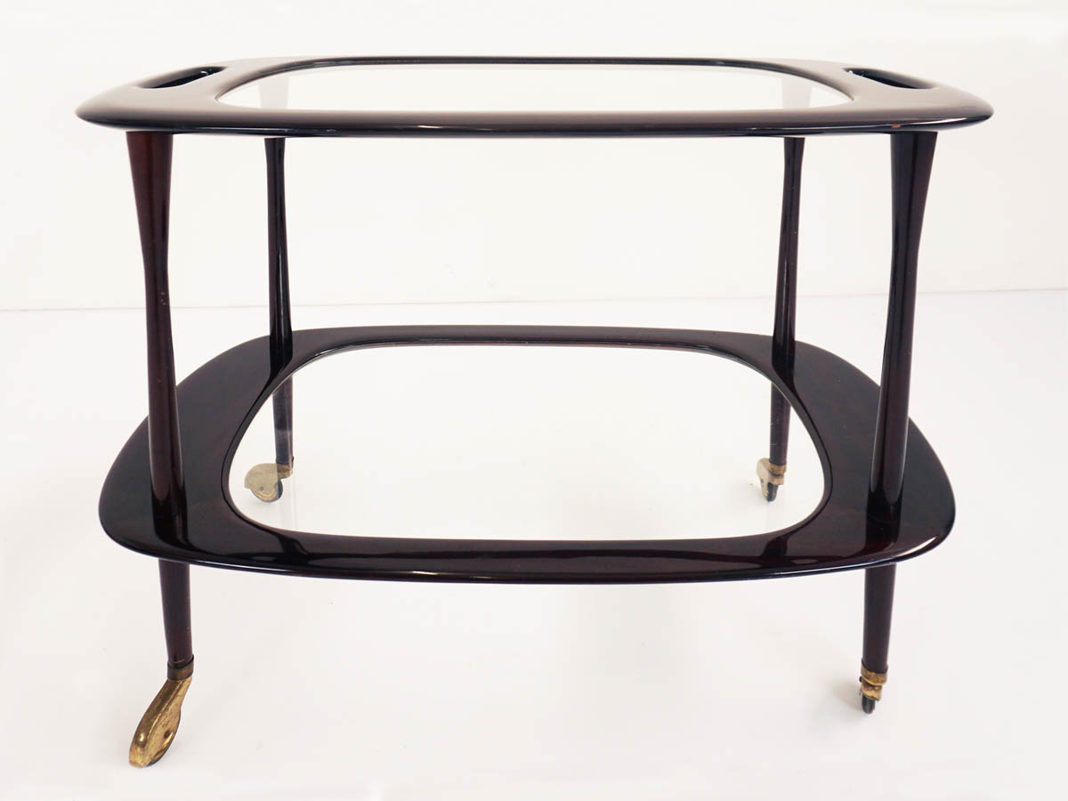 Élégante Table de Service Ovale