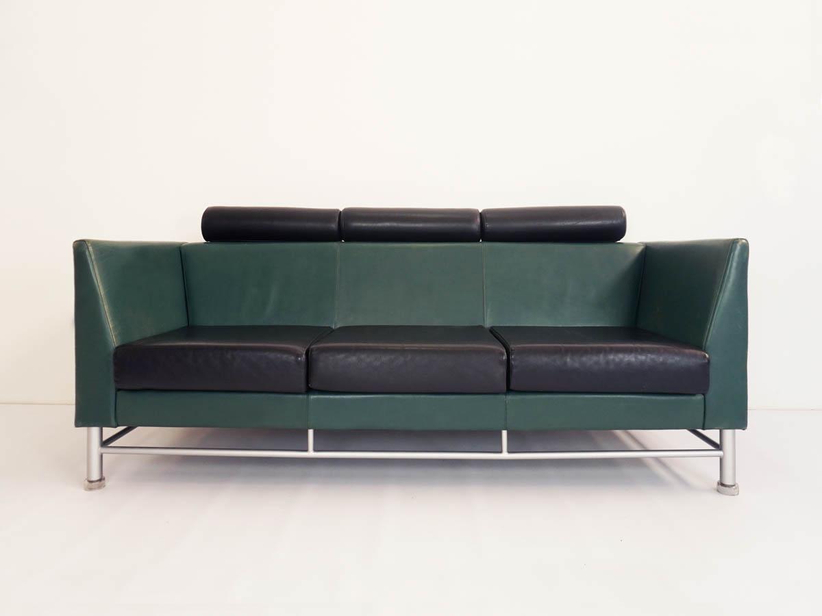 Patina leather three seats mod. Eastside