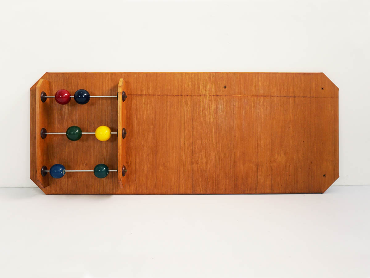 Unique Headboard Piece with Abacus