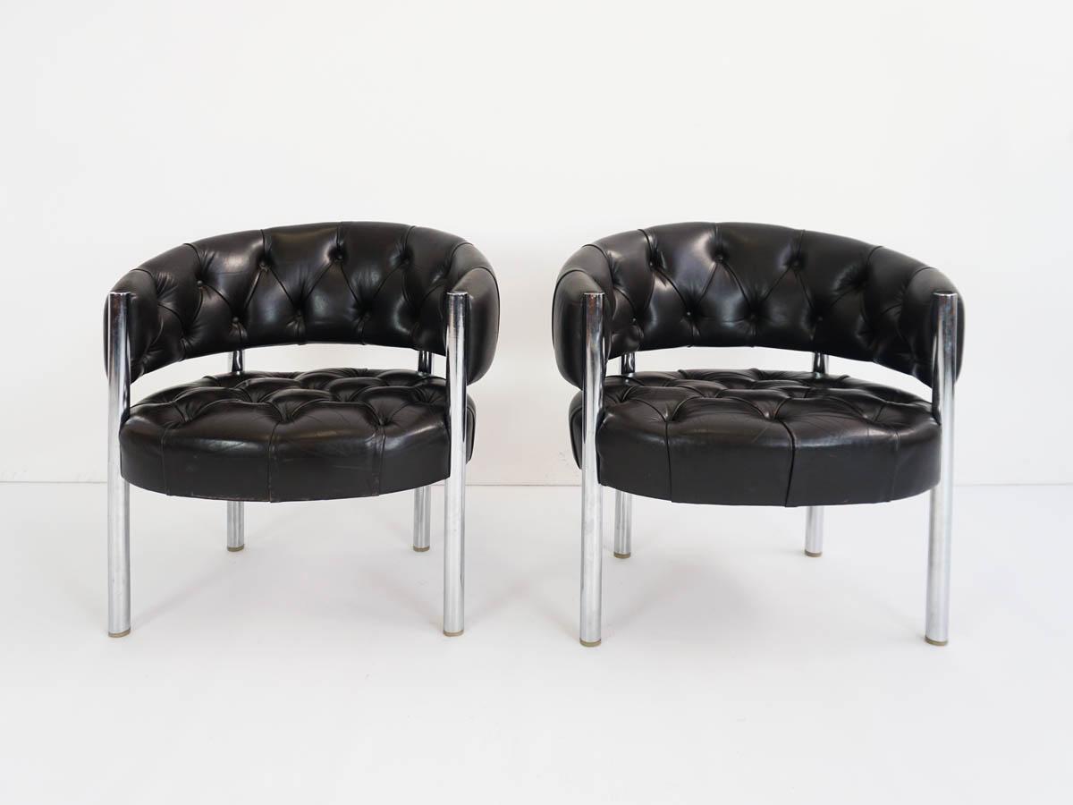 Pair of Lobby armchairs