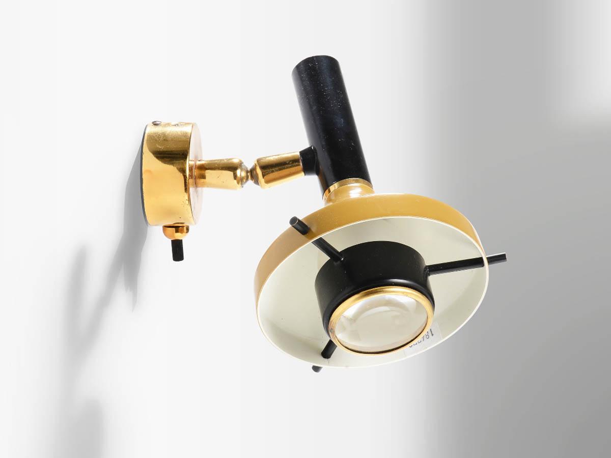 Ajustable Lens Sconce
