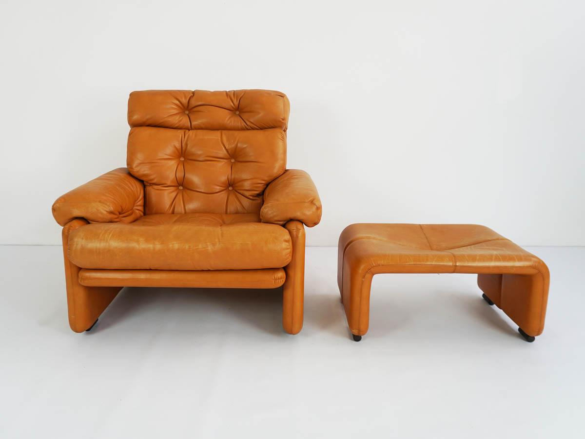 Lounge chair and ottoman mod. Coronado