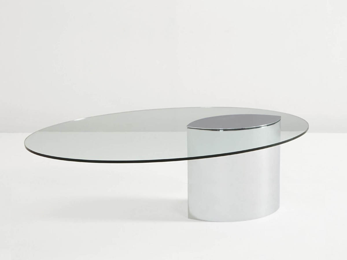 Medium height coffee table mod. Lunario