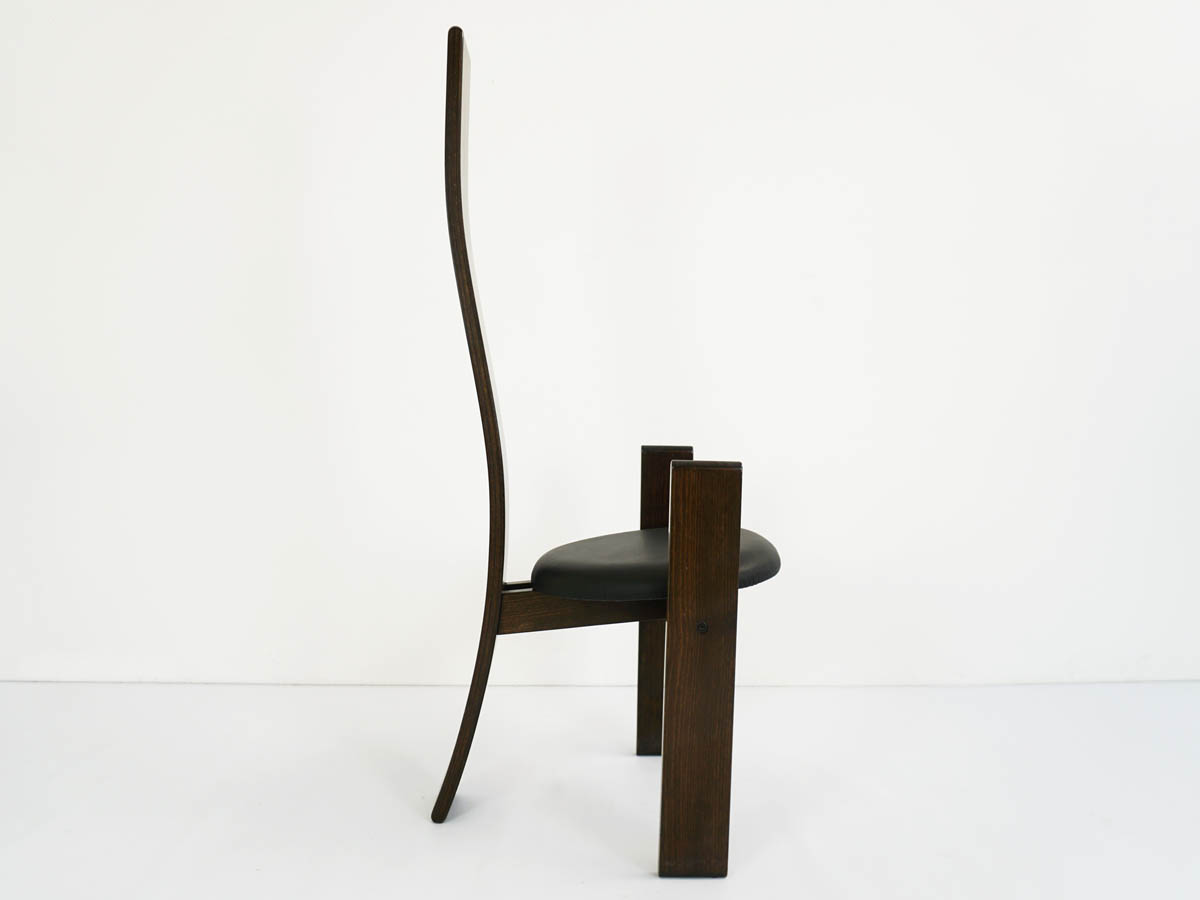 2 Iconic chairs mod. Golem in leather