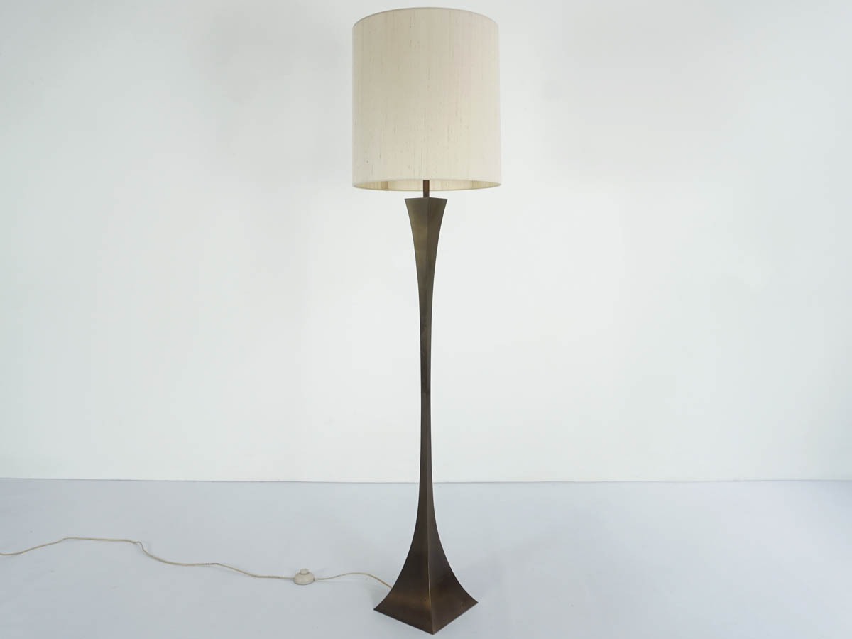 "Italian Golden Age ""Piramide"" floor lamp"