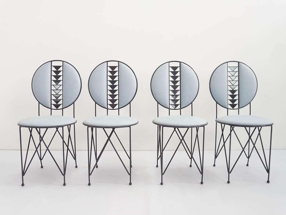4 Veranda chairs mod. Midway 2 | 602