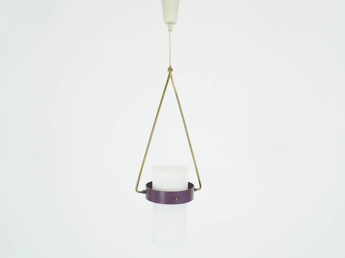 Small Tube Pendant