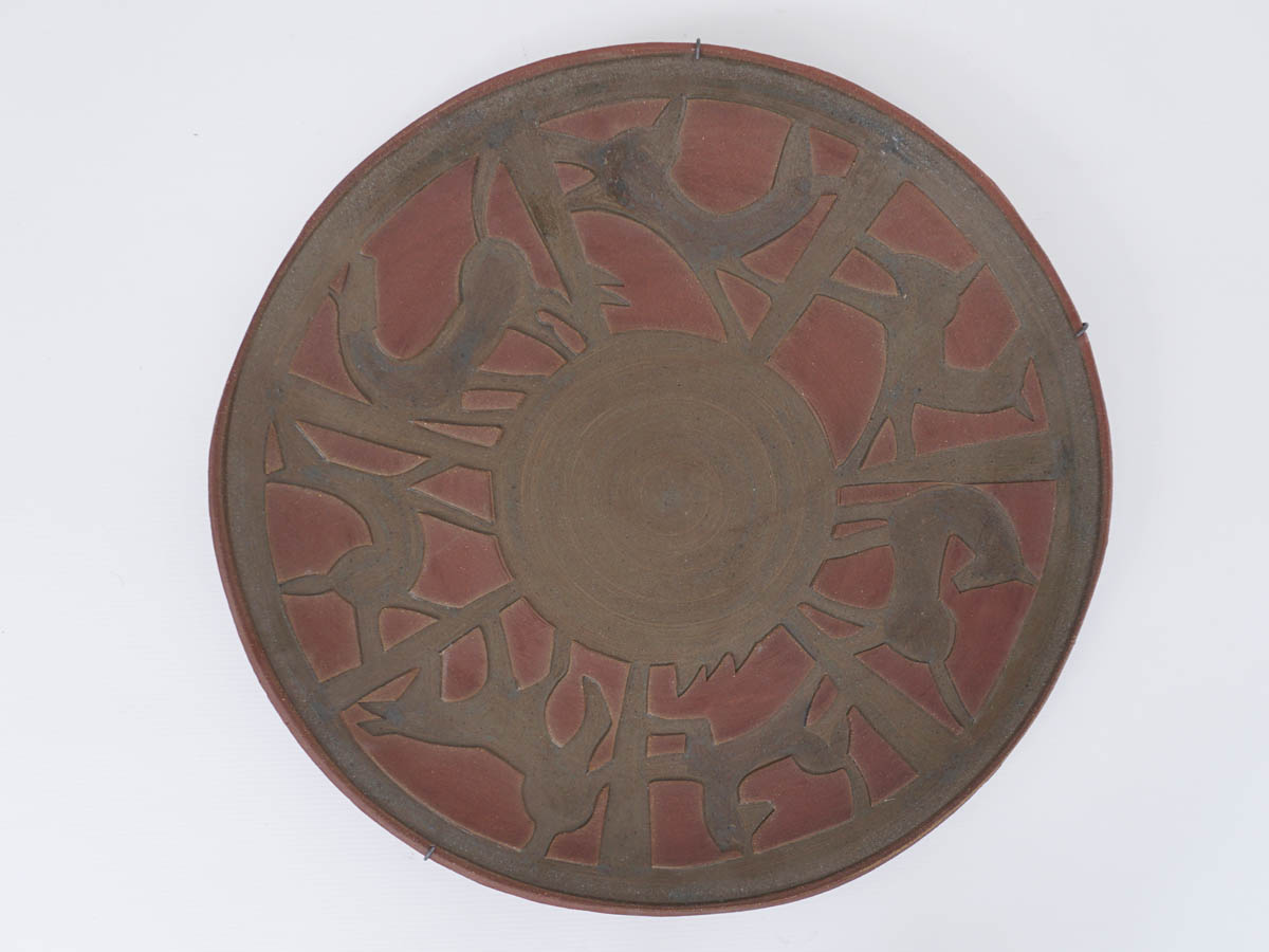 Raw Ceramic Decorative Dish