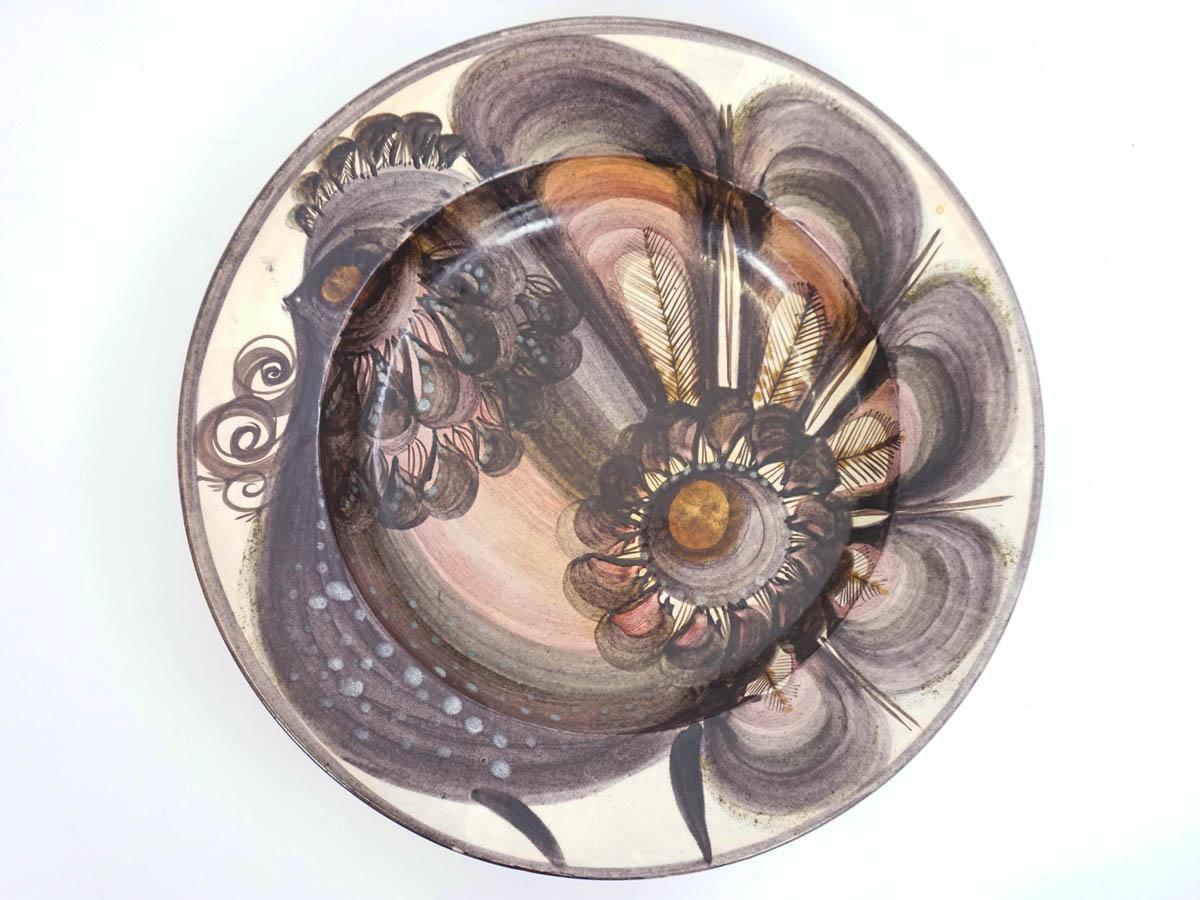 Large Swiss Ceramic Bowl