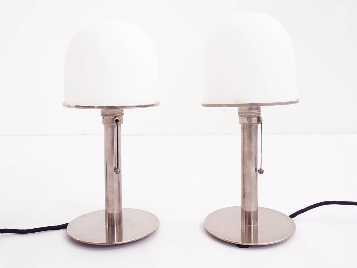 2 Bauhaus table lamps