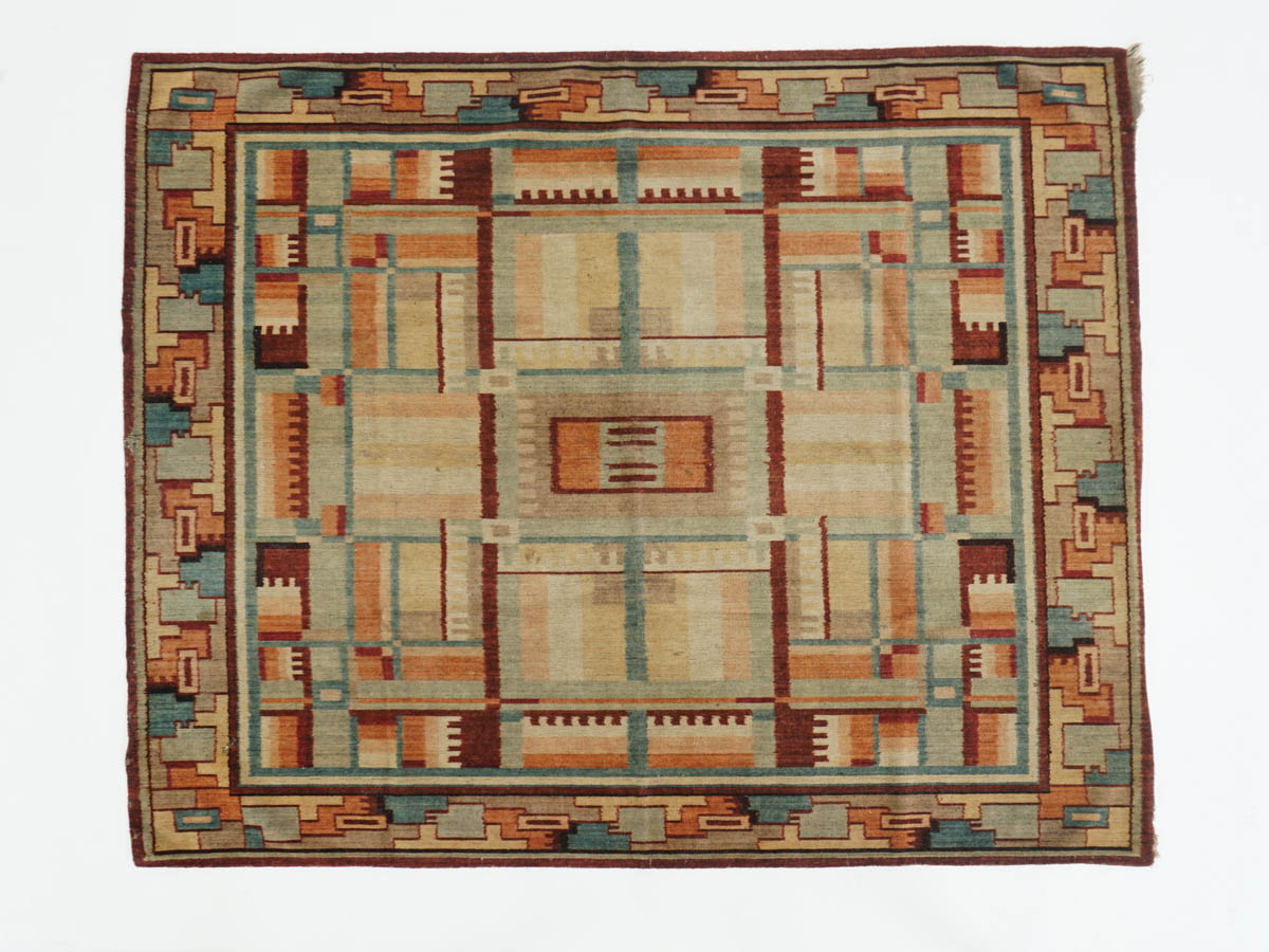 French Art Deco wall rug