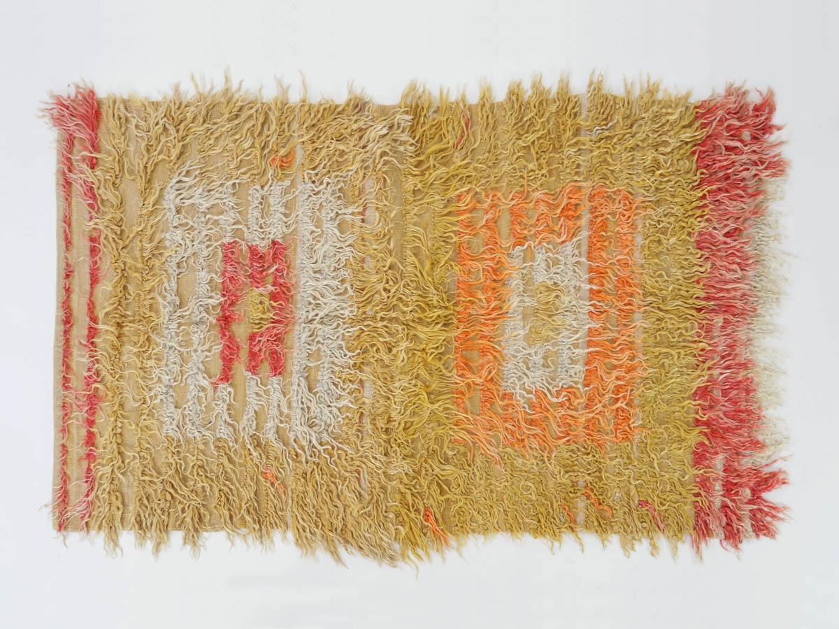 """Rothko"" Mohair Filikli Tulu Carpet"