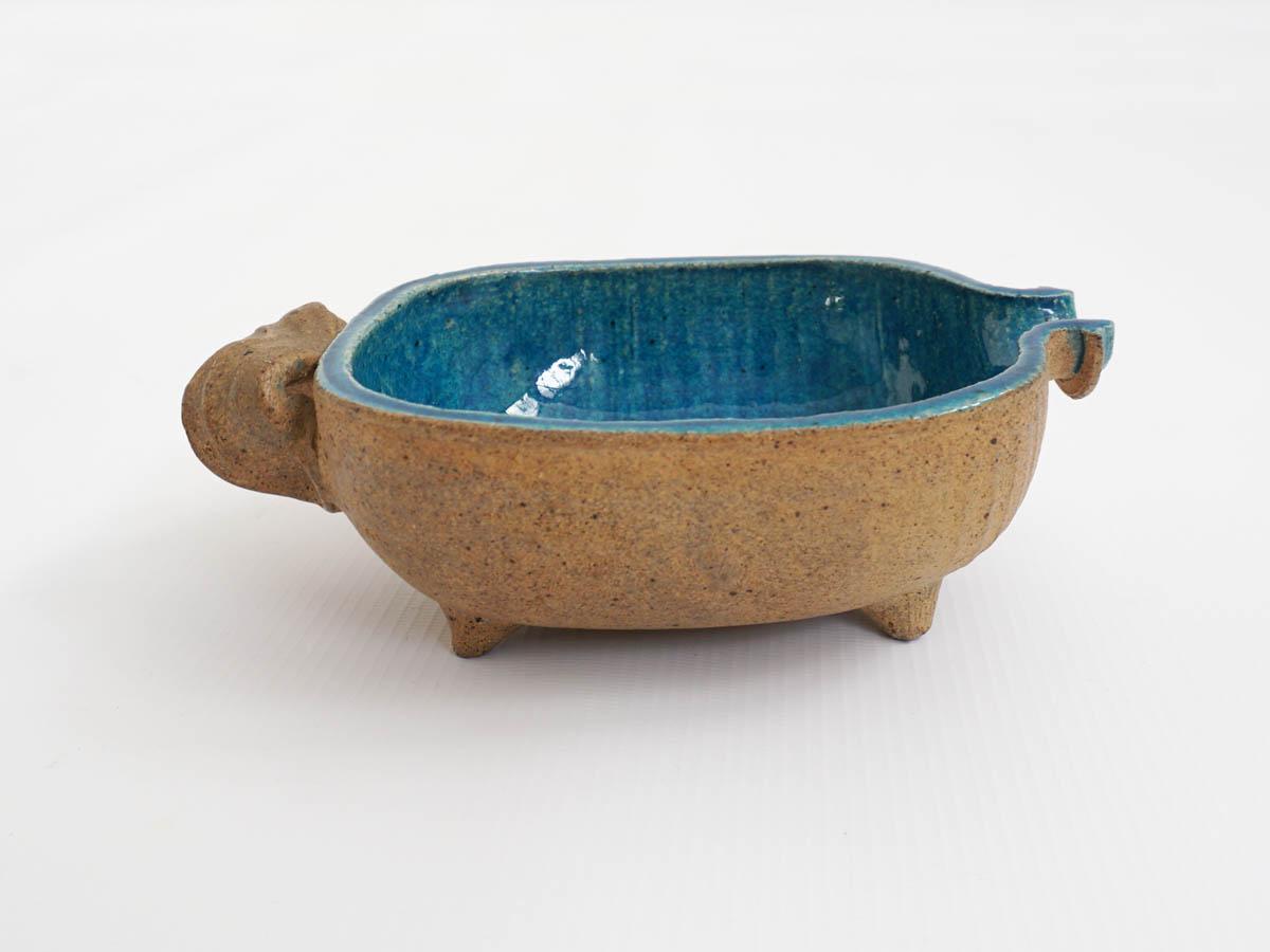 Small modern tribal bowl