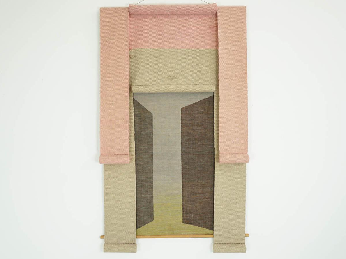 Wall art rug