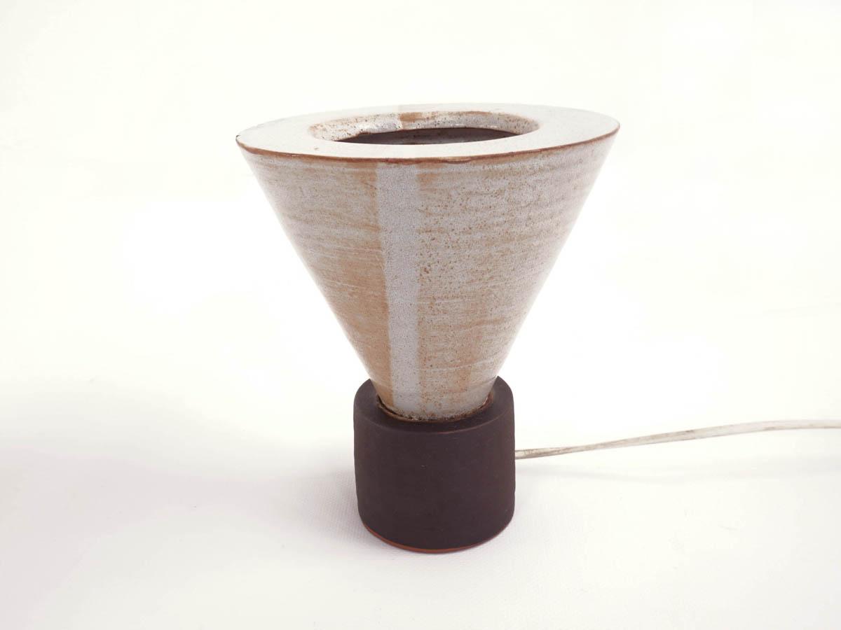 Small ceramic table lamp