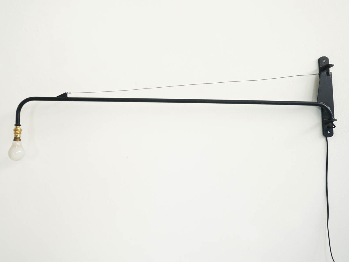 """Potence"" Medium Jib Wall Light"