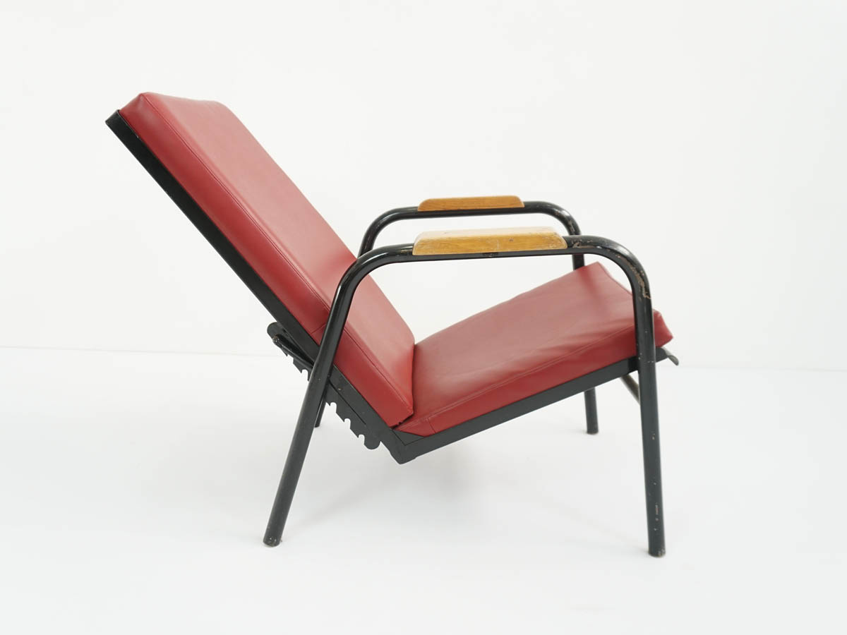Martel de Janville Sanitorium Adjustable Armchair