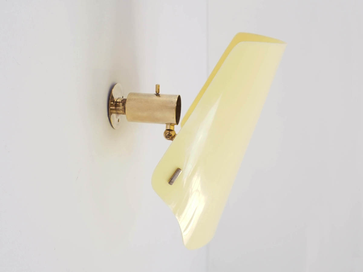 Adjustable Yellow Sconce mod. 184