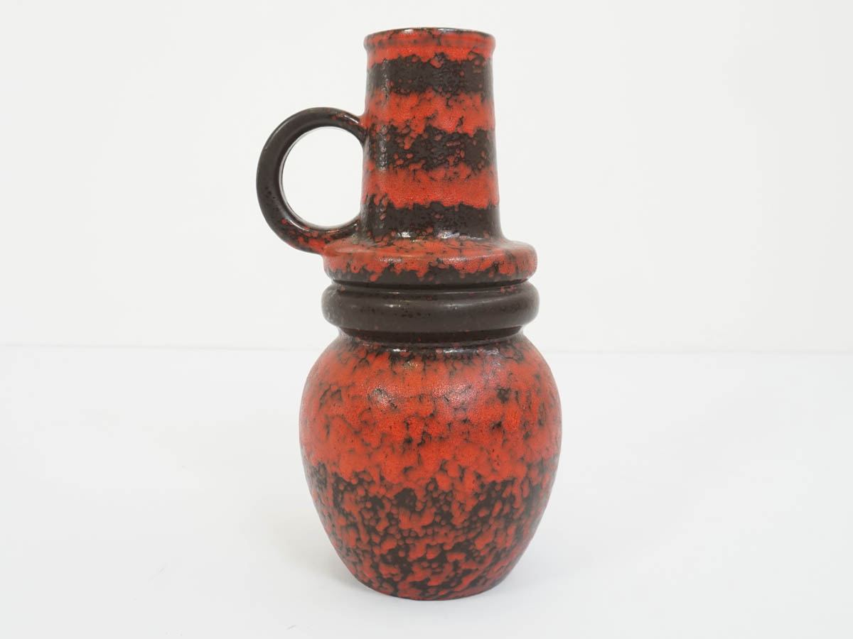 Big Red and Black Ceramic