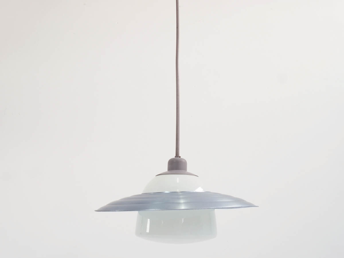 Large Bauhaus Chandelier with Adjustable Aluminum Shade