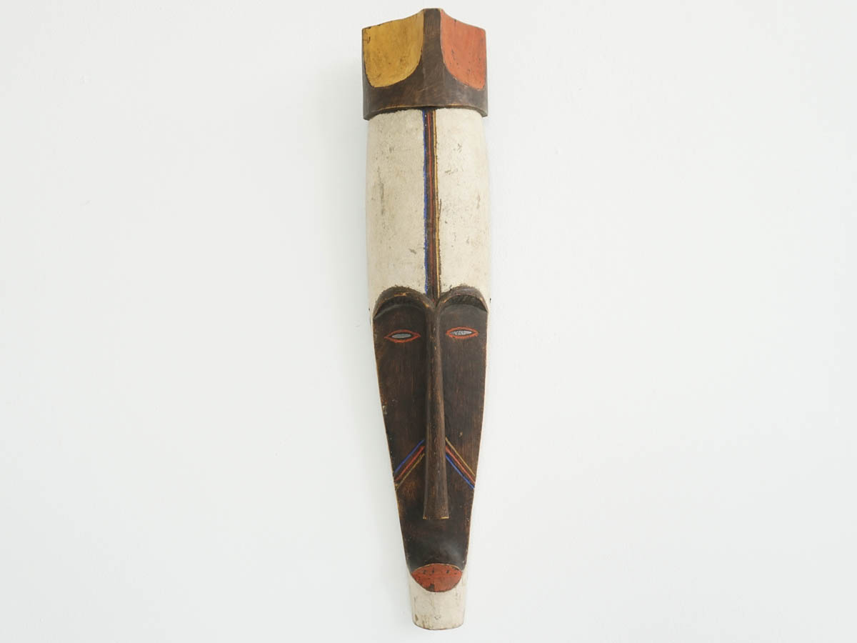 Mali Painted Wood African Mask