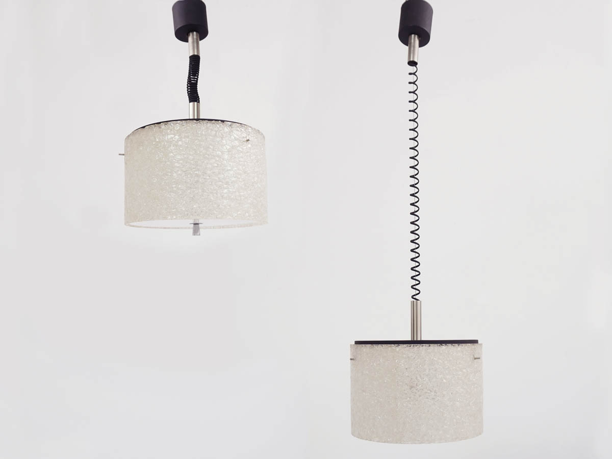 Pair of HT Adjustable Pendant Lights