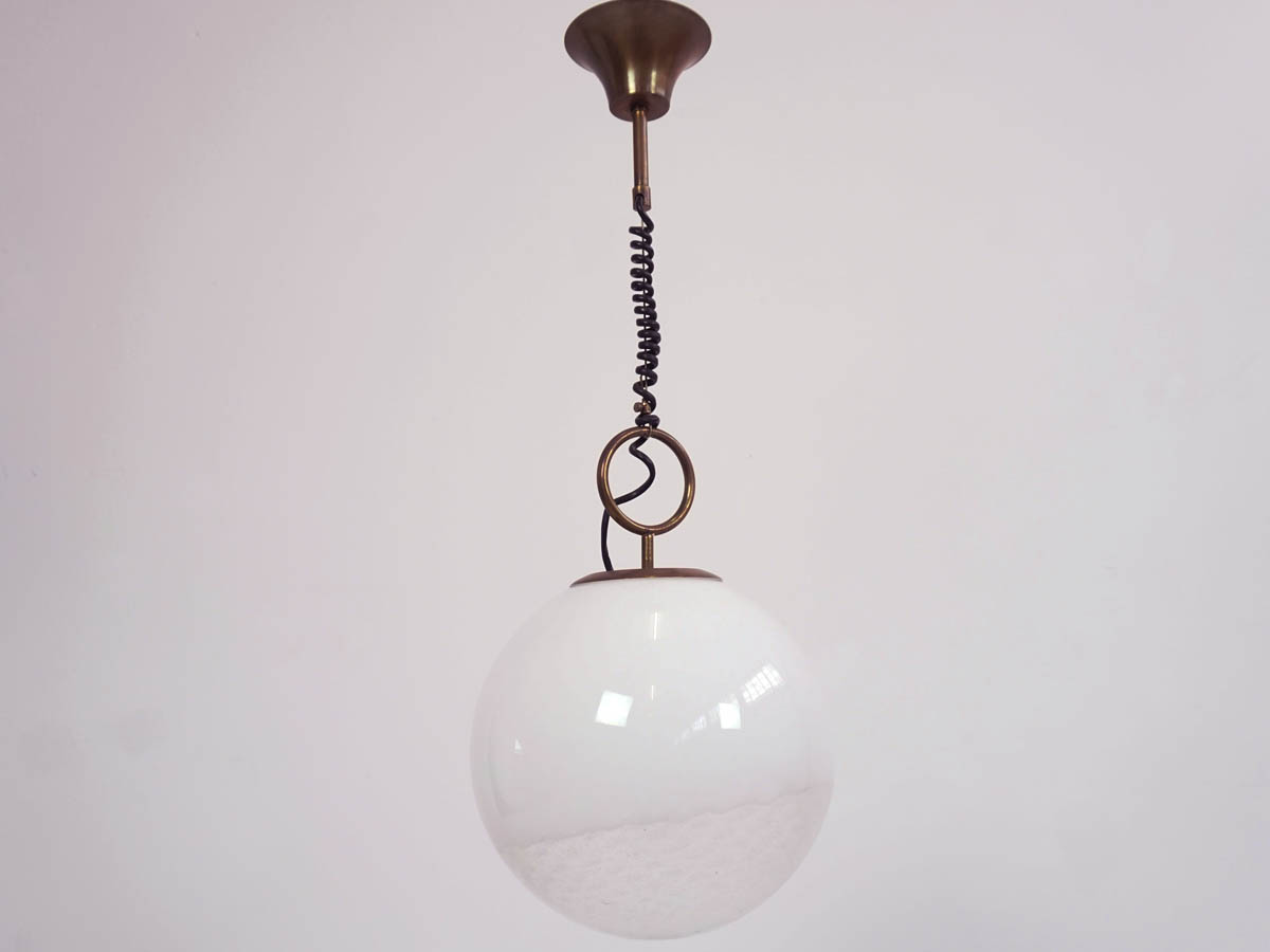 1960 Glass Ball Pendant