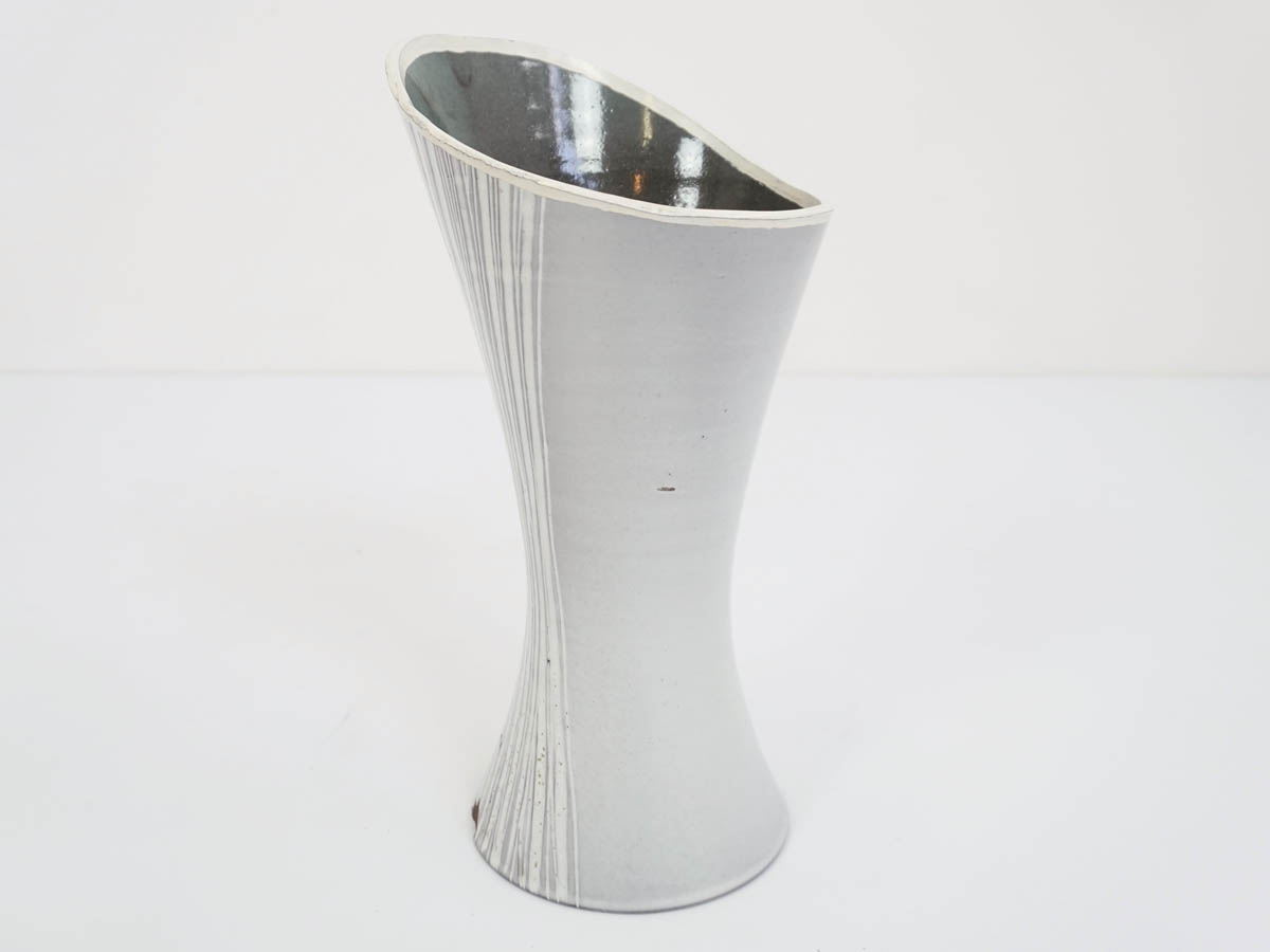 Light Grey Glazed Vase