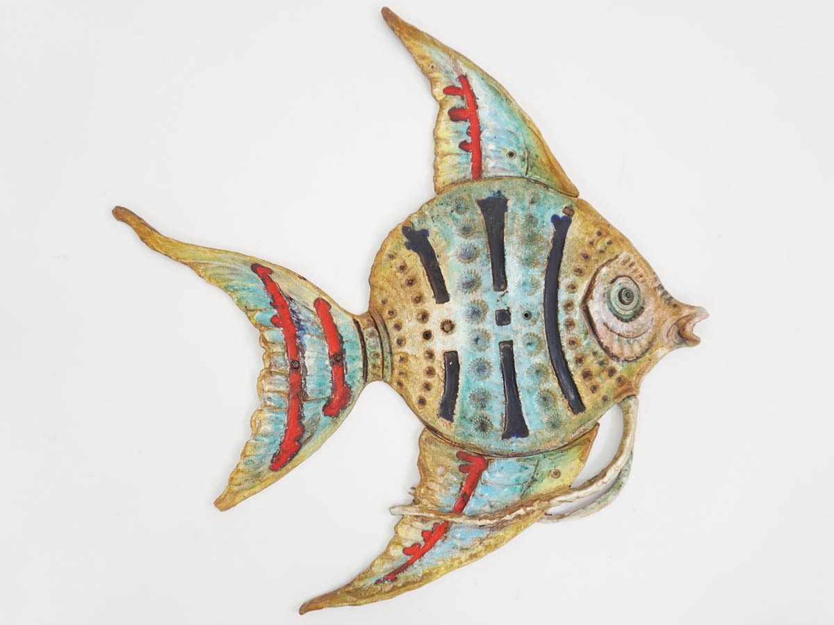 Big Ceramic Fish for Wall Decoration