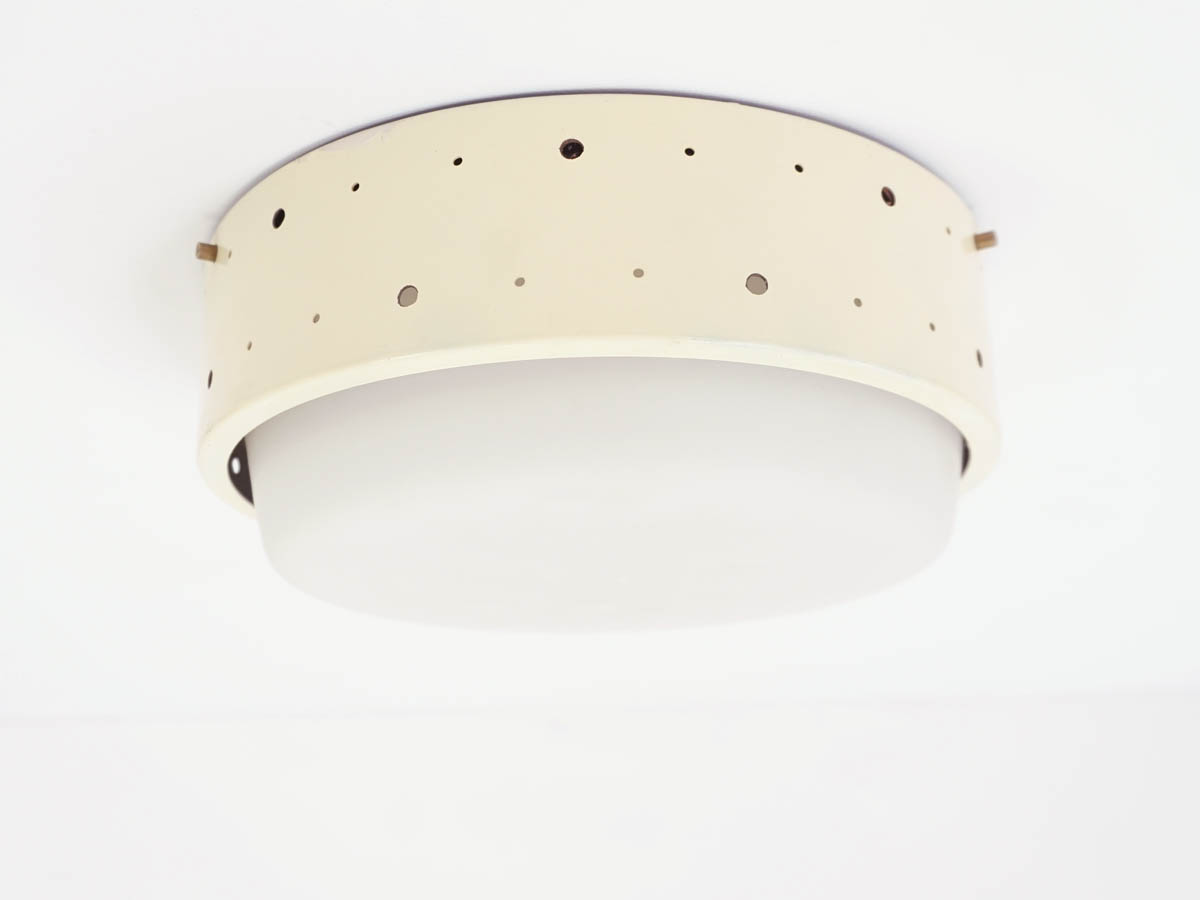 Perforated Metal Flush Light