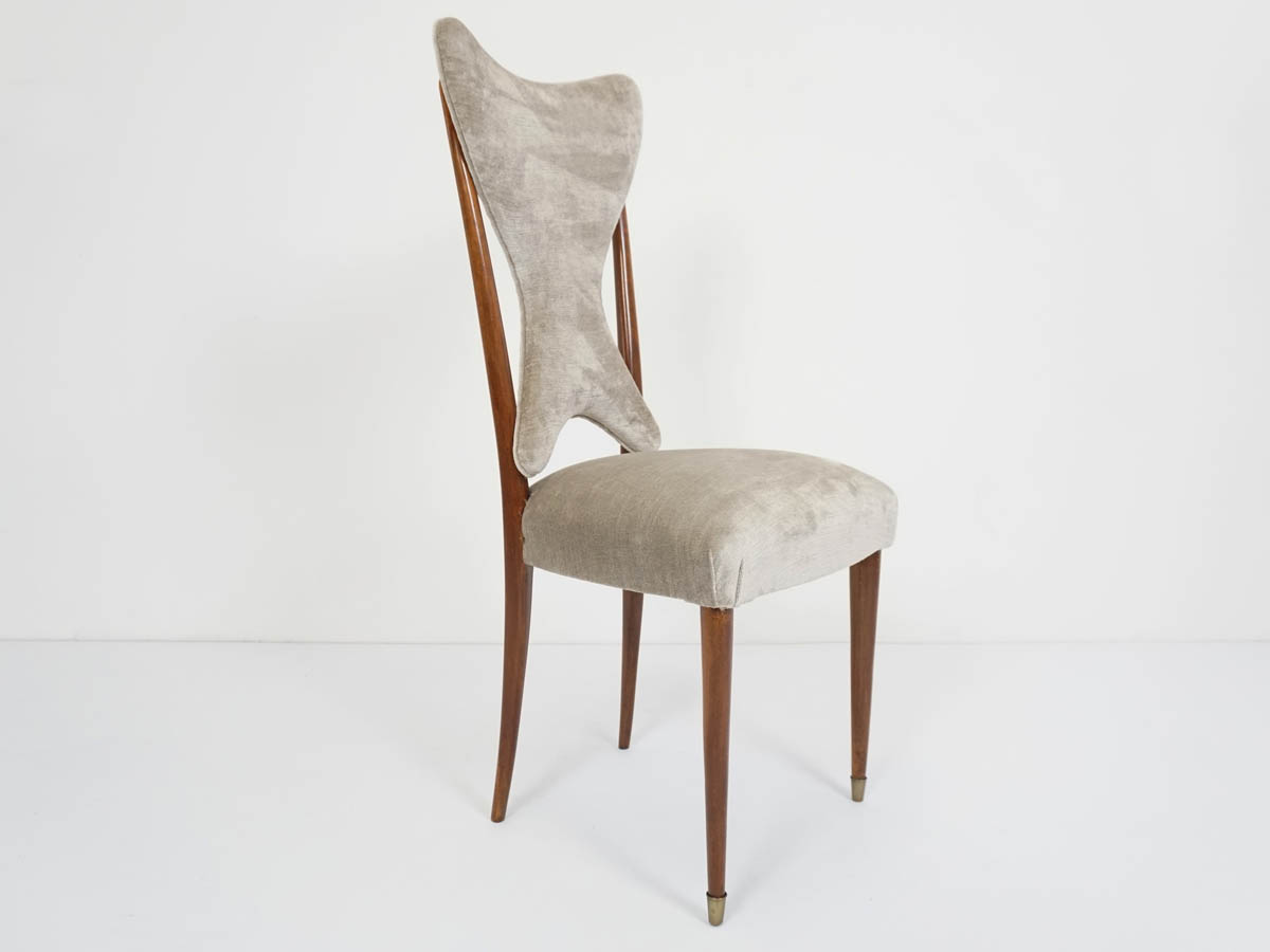 6 Elegant Italian Dining Chairs