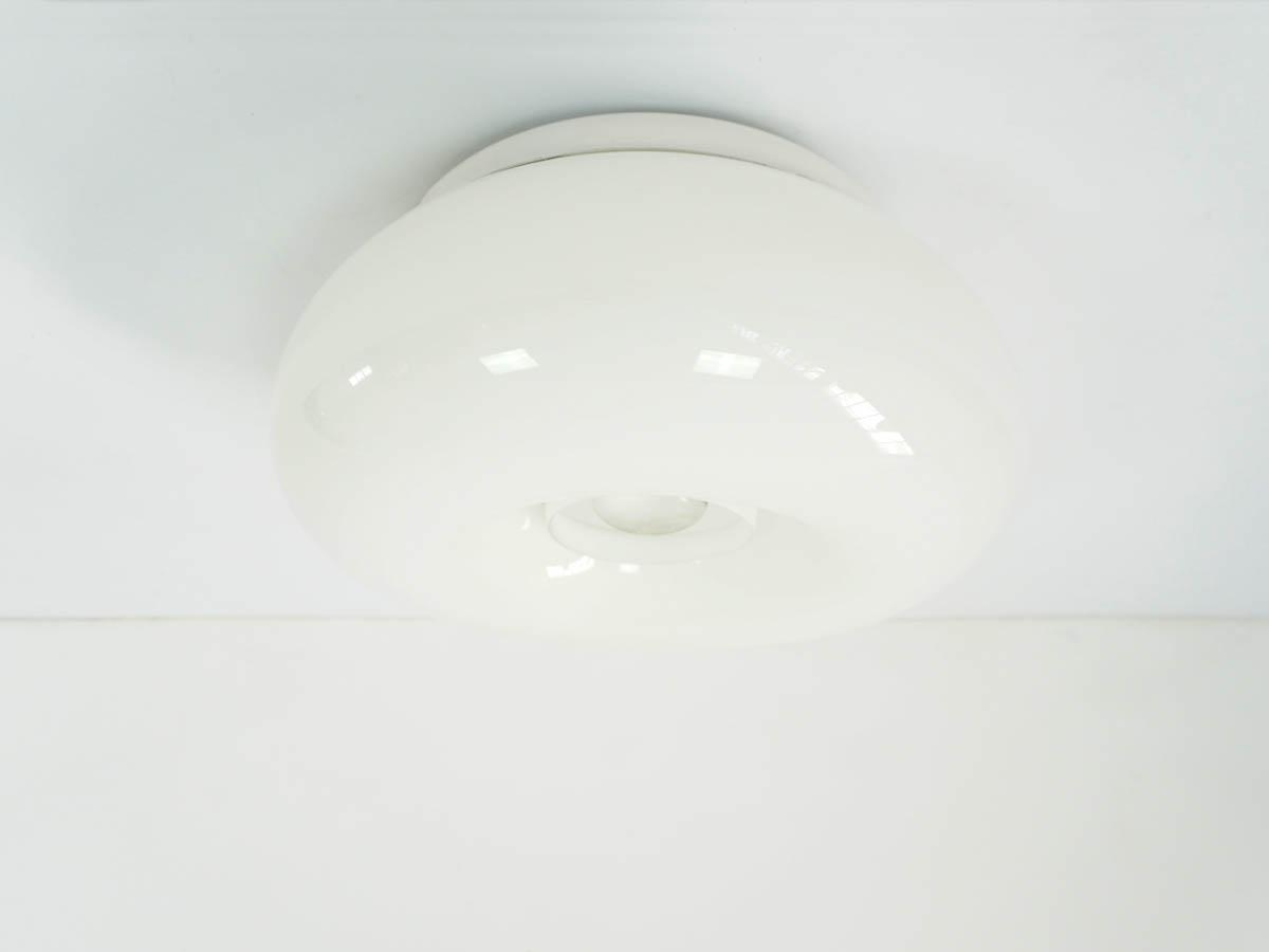 Big Glass Ball Flush Light