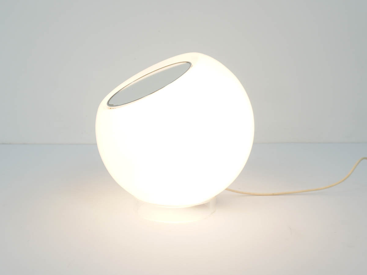 Adjustable Bubble Lamp with Mirror