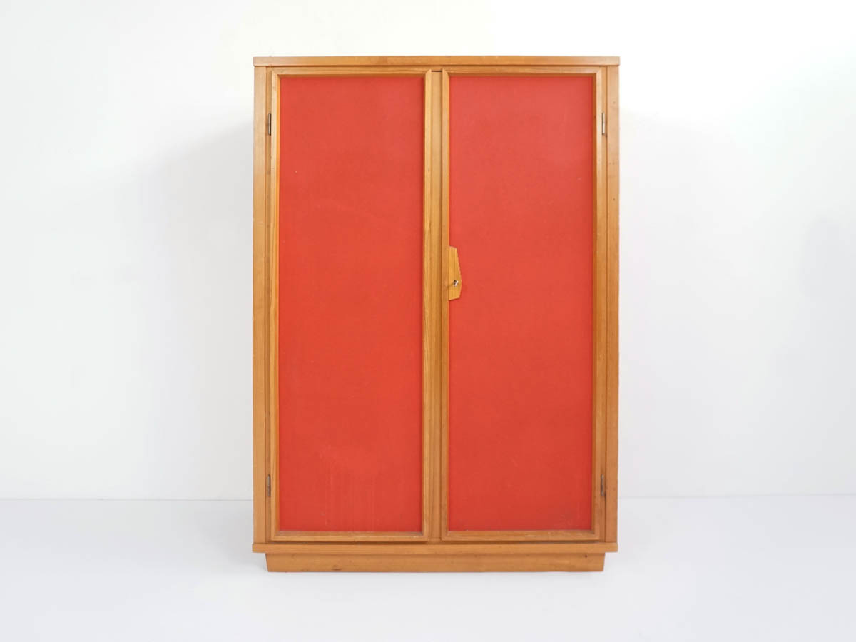 Red Coral Pavatex Cabinet