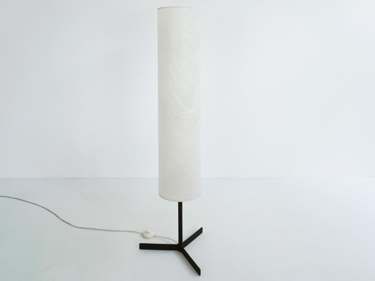 Swiss tube lamp in Japanese paper