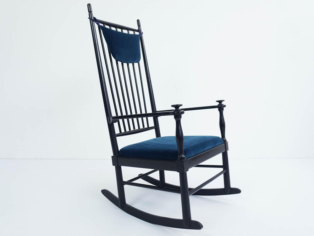 Sedia a Dondolo Danese
