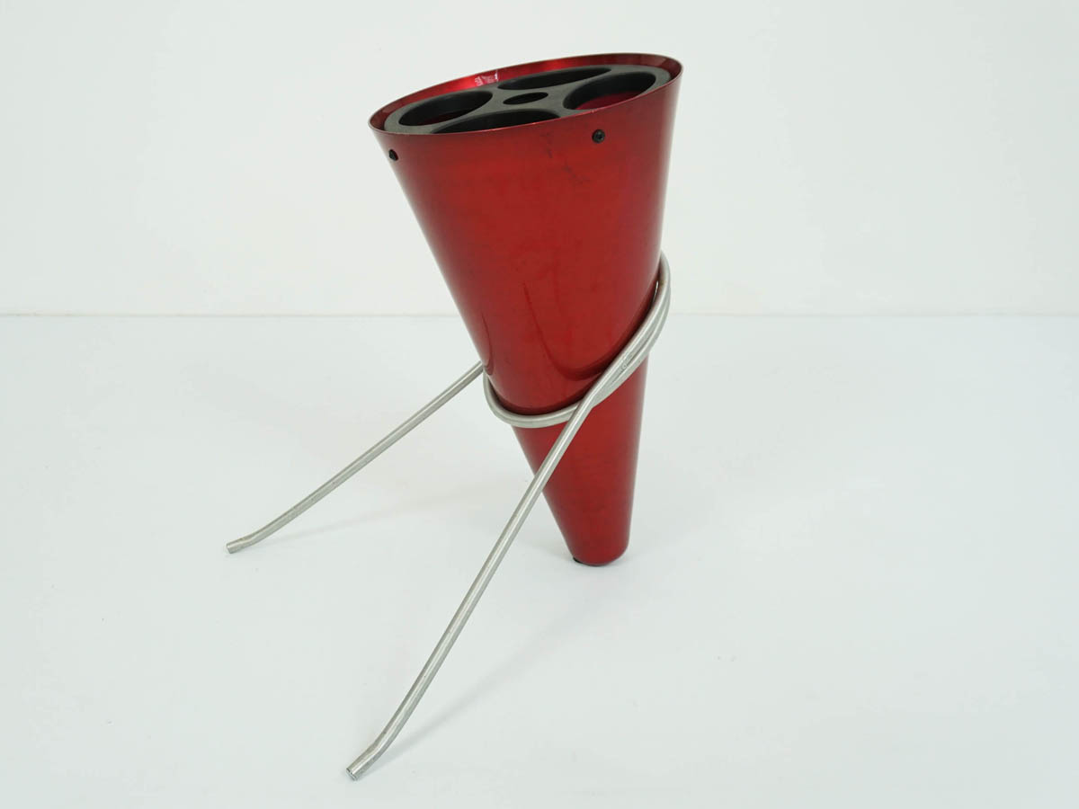 Red Cone Umbrella Stand