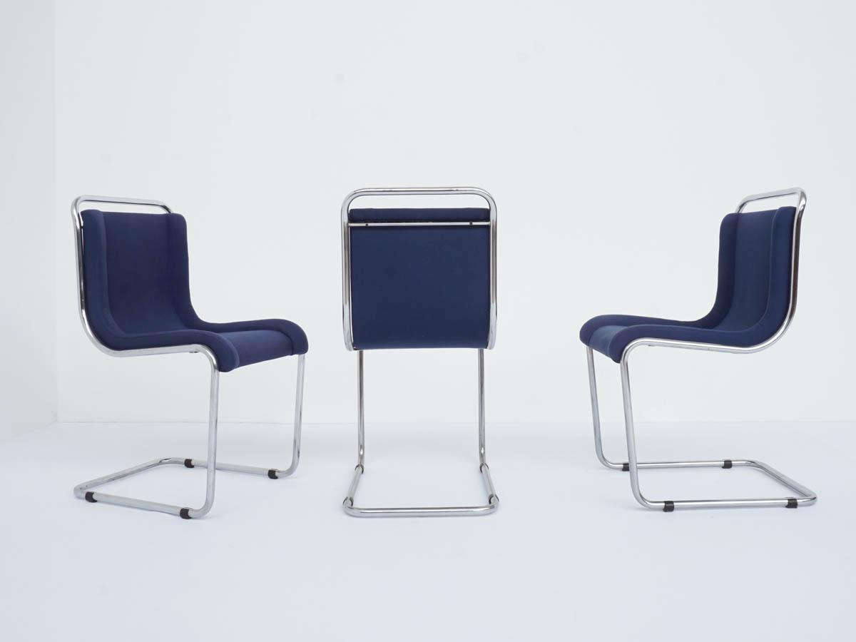 Set of 3 Tubular Chairs