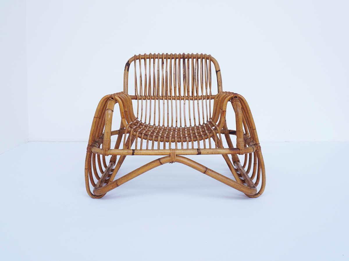 Italian Design Iconic Bamboo Armchair