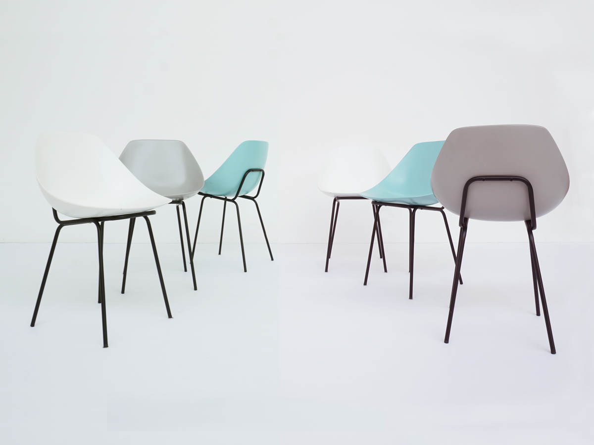 6 Shell Chairs