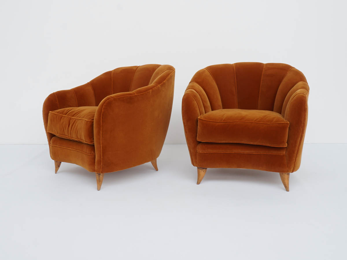 Comfortable Armchairs mod. Shell