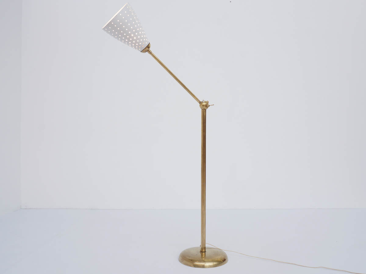 1950 Adjustable Luminator in Perforated Metal