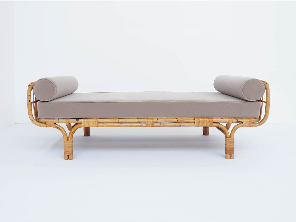 Lettino o Day Bed in Bamboo