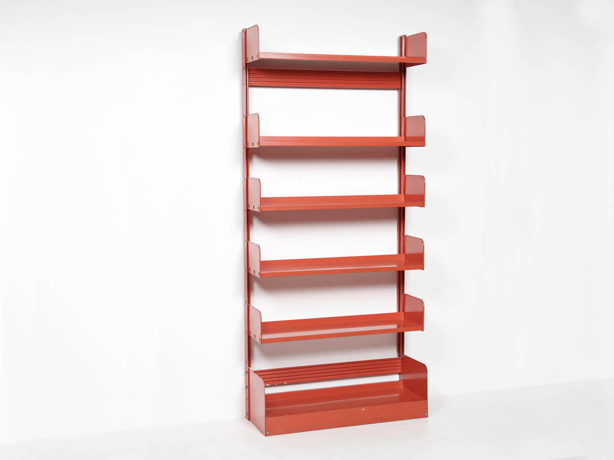 Self-supporting Steel Bookcase mod. Congresso