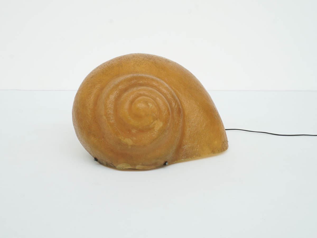 "Magical Fiber Glass Lamp mod. Snail ""Chiocciolona"""
