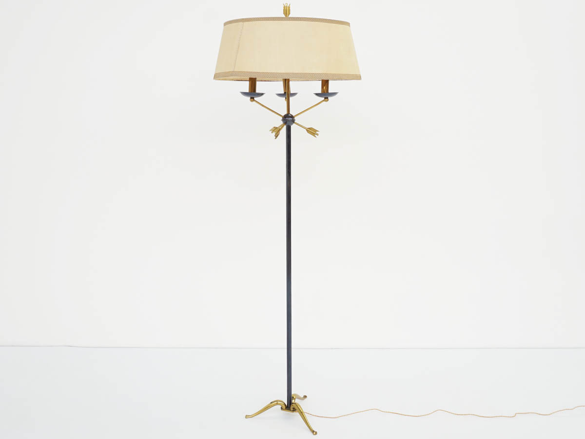 French Floor Lamp with Arrows