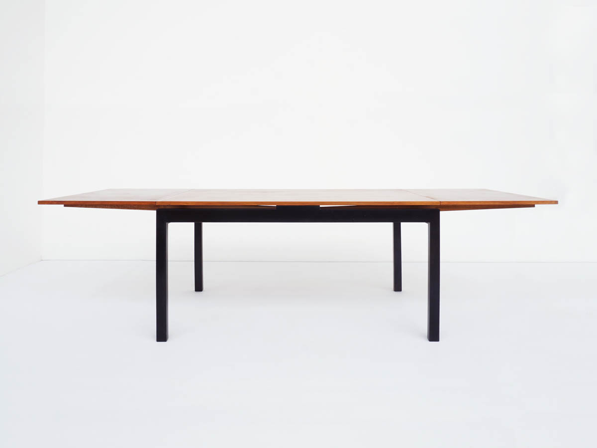 Rosewood Extending Table Swiss Minimal Design