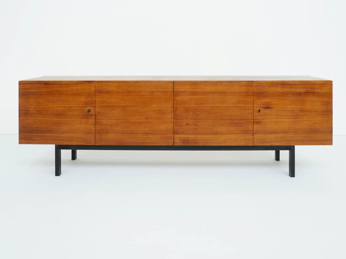 Teak Sideboard in Swiss Minimalist Design