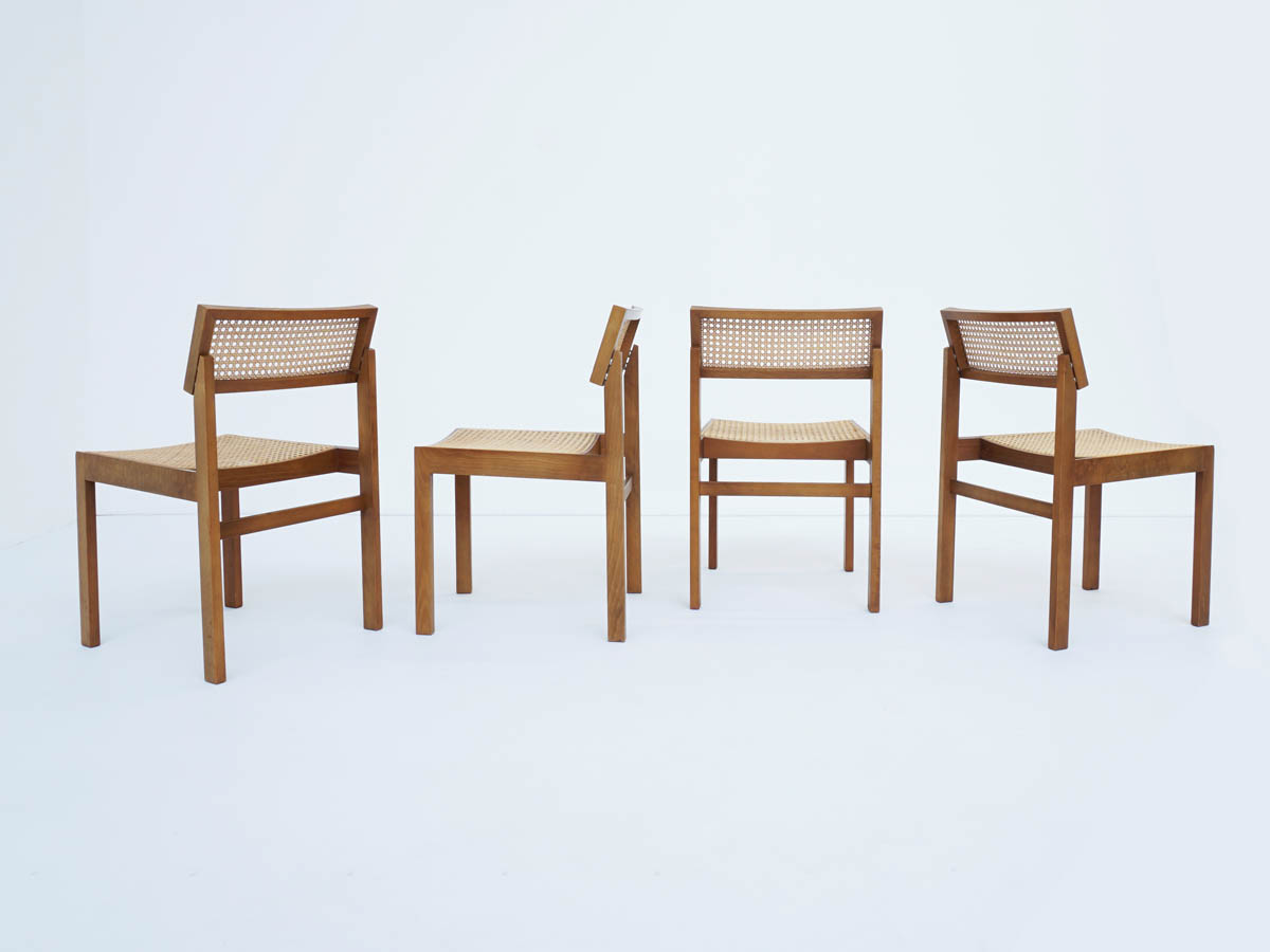 4 Swiss Design Chairs