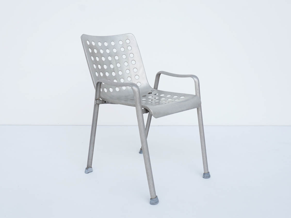 Outdoor Chair in Aluminium mod. Landi Stuhl